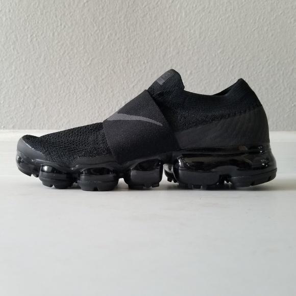 1dcfa4908a4b Women s Nike Air VaporMax Flyknit Moc Triple Black.  M 5c1818978ad2f9aa4f5a9988